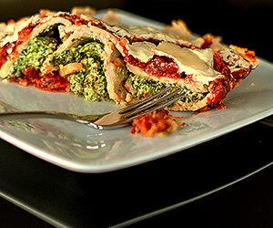 Buchweizen-Cannelloni mit Grünkohl-Ricotta-Füllung